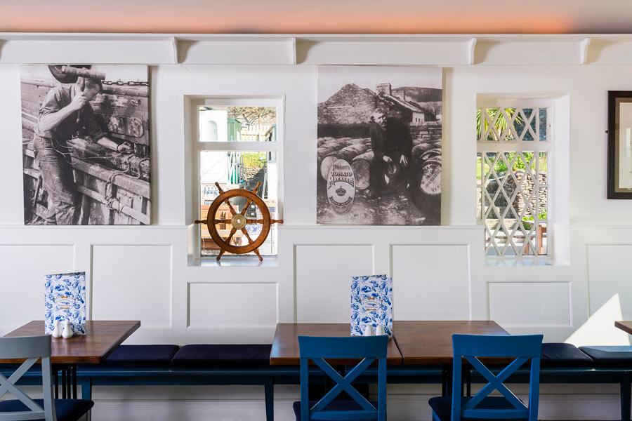 The Boat Yard Restaurant decor